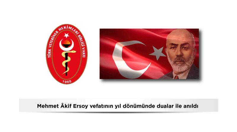 Mehmet Âkif Ersoy'un vefatının yıl dönümü